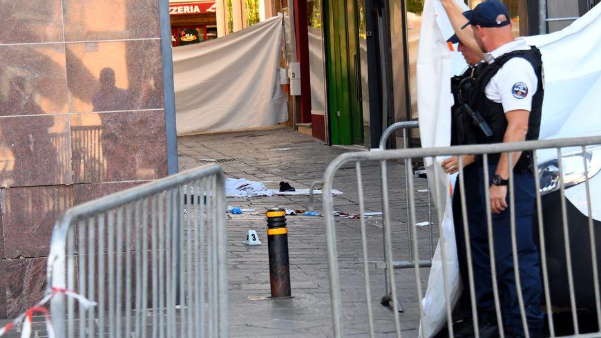 Le drame s'est produit dans la rue, à proximité de l'hôtel de ville de Rodez