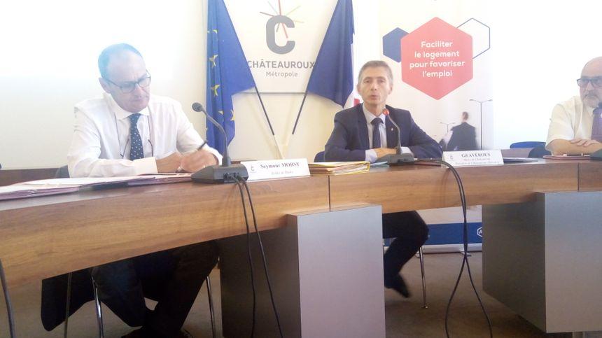 """À Châteauroux, Gil Avérous a souligné l'importance de """"ramener les habitants en centre-ville"""""""