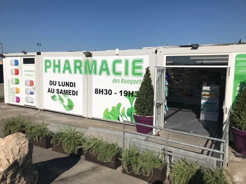 La nouvelle pharmacie des banquets a ouvert mi septembre