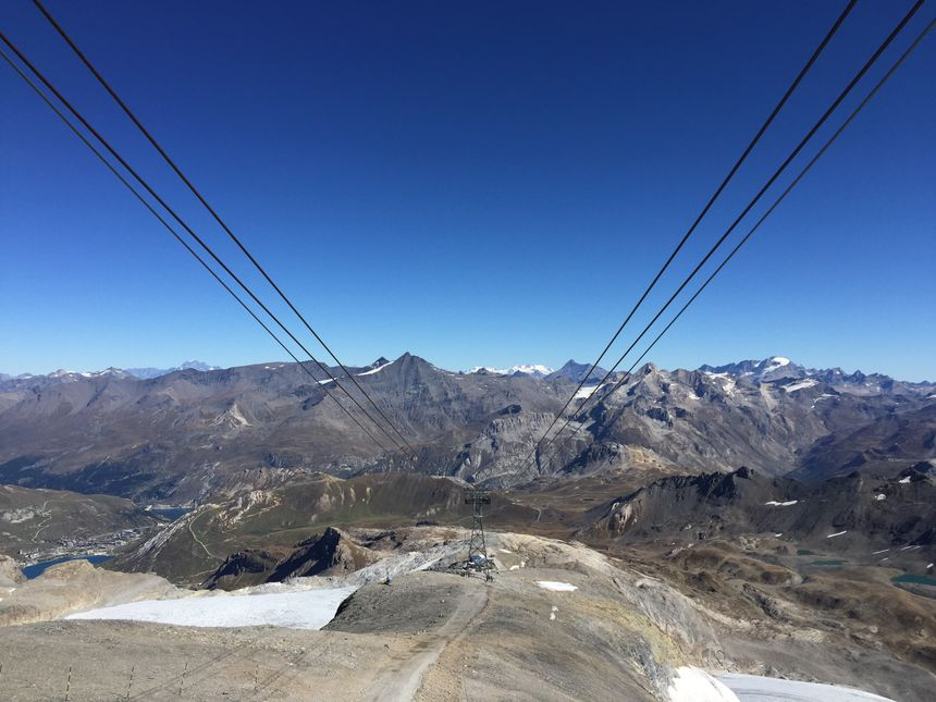 De 3034 à 3456 mètres d'altitude : La montée dure cinq minutes