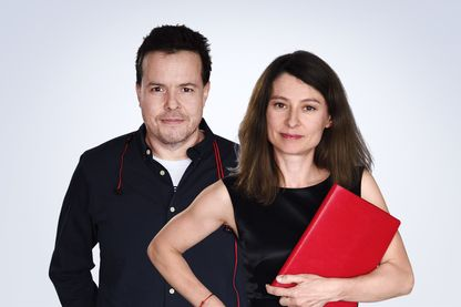 Nicolas Demorand et Alexandra Bensaid