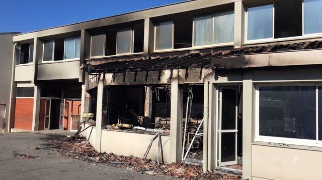 Une partie de l'école primaire de Saint-Sever a été détruite par les flammes