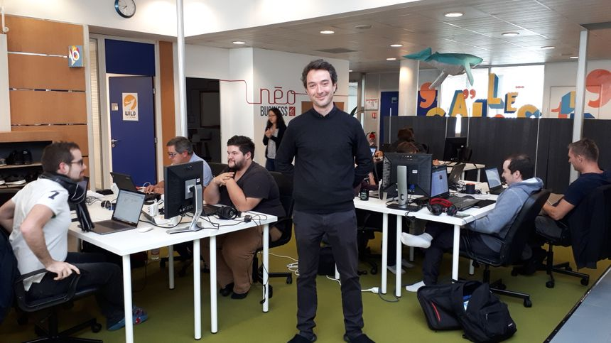 Clément Bechetoille, campus manager de la Wild Code School de Reims