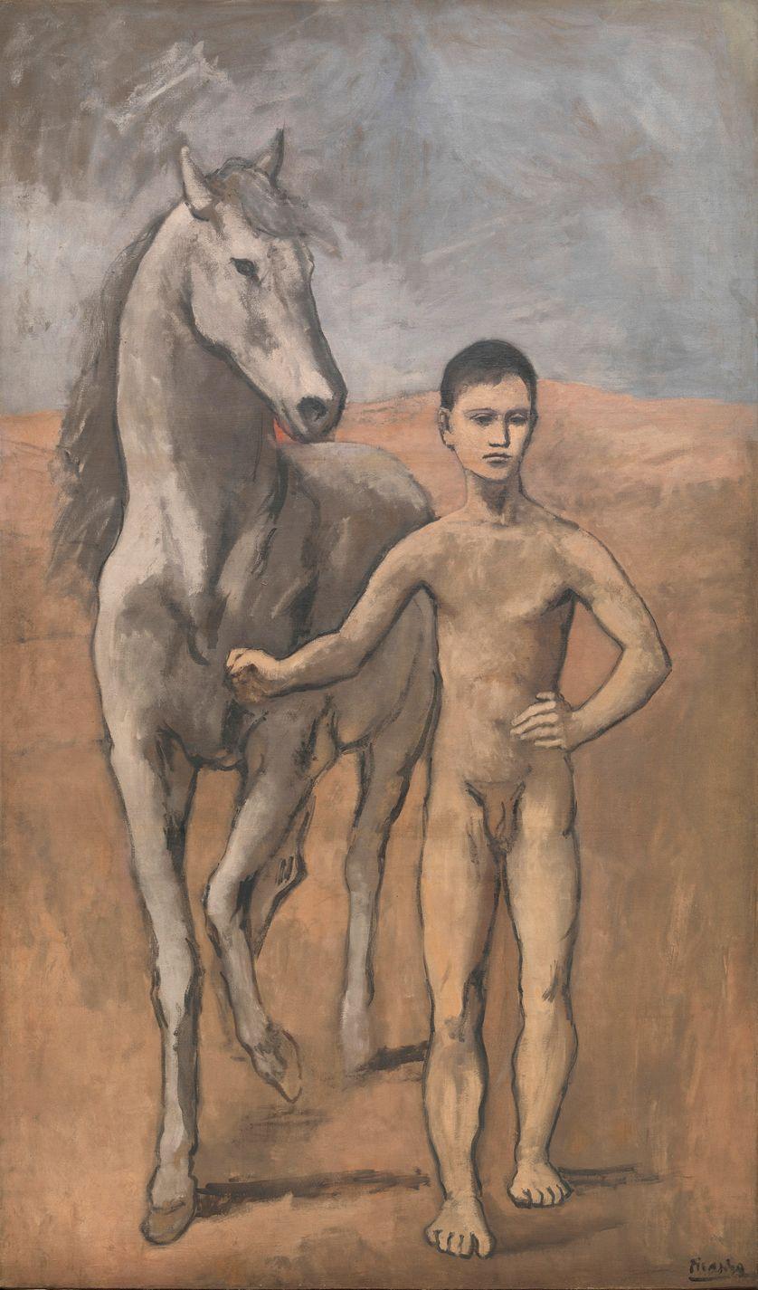 Le Meneur de cheval nu, Picasso, 1905-1906