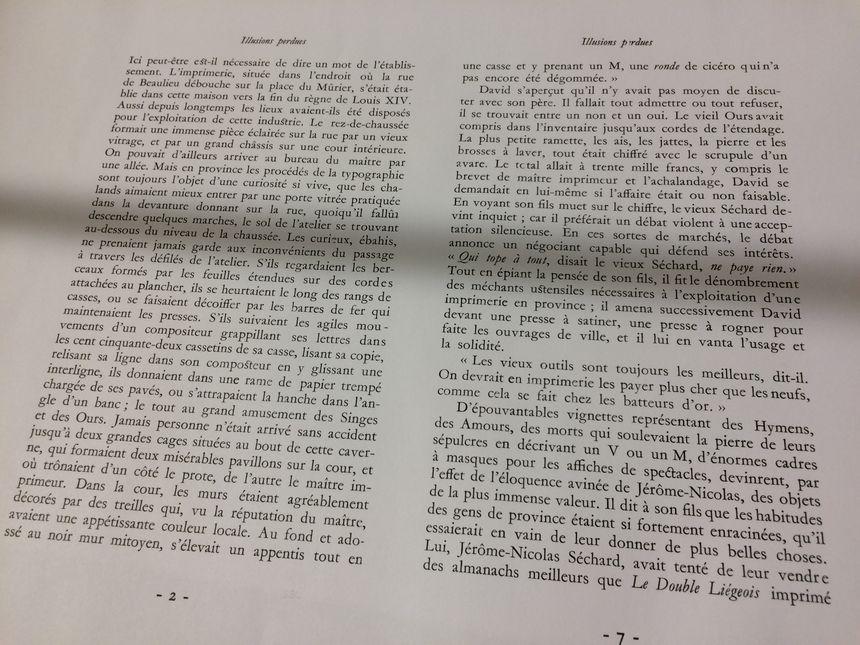 Dès la deuxième ligne, Balzac évoque ses souvenirs. - Radio France