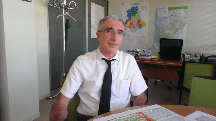 Didier Borrel, de la direction des territoires, invité de France Bleu Limousin ce lundi