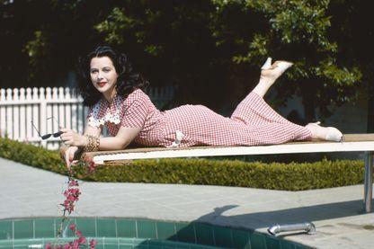 Hedy Lamarr (1913-2000), ici en 1945