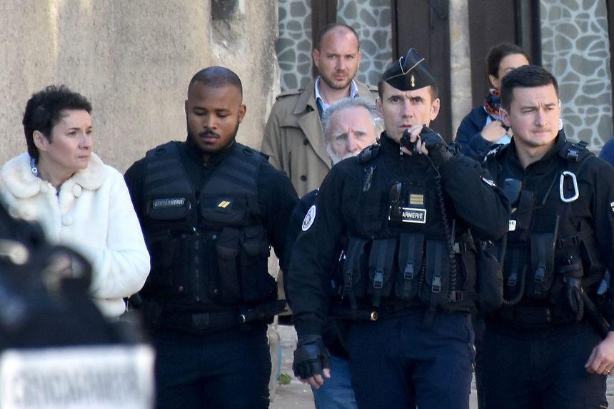 Reconstitution avec Michel Fourniret à Auxerre pour l'affaire Joanna Parrish