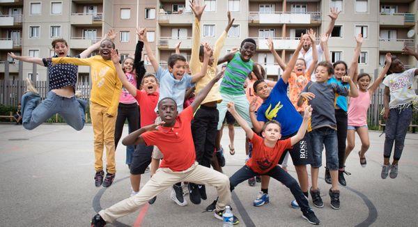 Projet Hop Hop Opera 2016 à l'Opéra national de Lyon.
