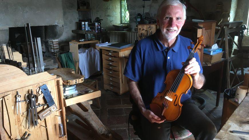 Christian Urbita estime avoir atteint l'art de faire d'excellents violons grâce à celui conçu pour Renaud Capuçon.