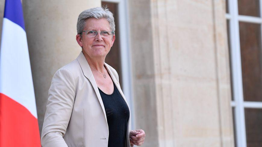 Geneviève Darrieussecq, la secrétaire d'État auprès de la ministre française des Armées en mai 2018.