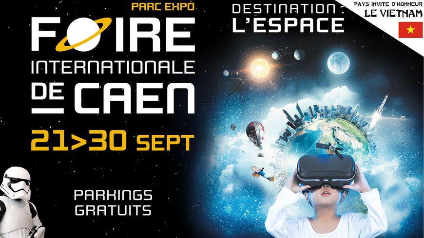 Foire de Caen 2018 Destination l'espace