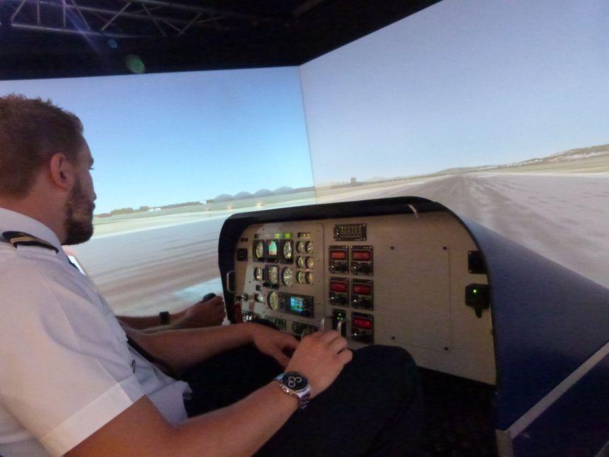 Des simulateurs de vol vous permettent de décoller...pour de faux