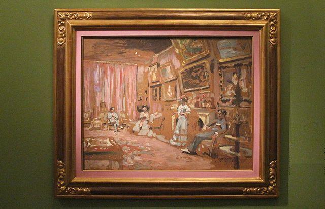 Messieurs et Mesdasmes Josse et gaston Bernheim-Jeune au 107, avenue Henri Martin (1905 - Galerie Bernheim-Jeune)