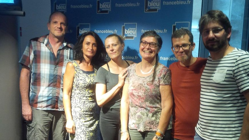 Jean Marie, Antonella, Aude, Monique, Sylvain et Sébastien.