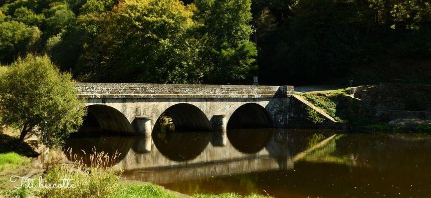 Le Pont du Palais, près de Bosmoreau-les-Mines