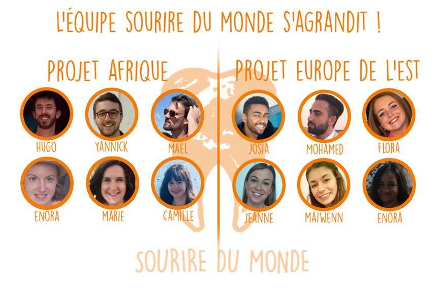 L'équipe de Sourire du monde
