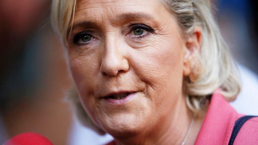 Marine Le Pen à Fréjus le 15 septembre 2018.