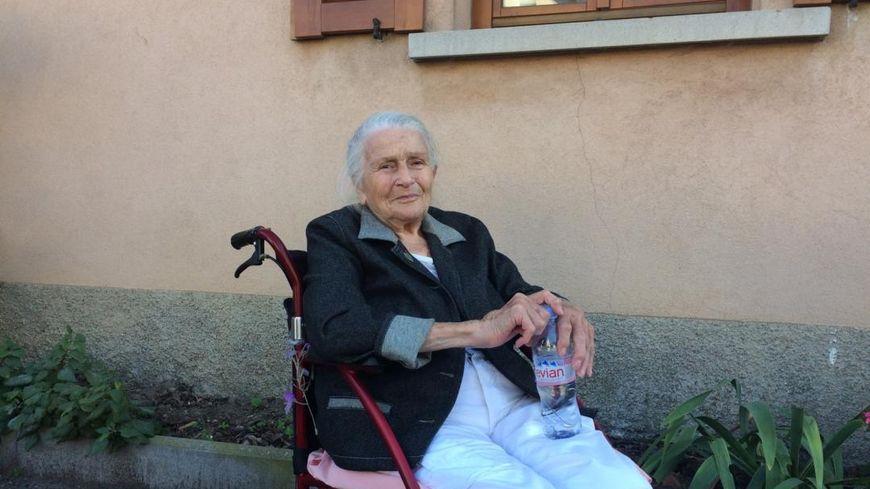 Germaine Schell, 89 ans, militante anti-GCO.