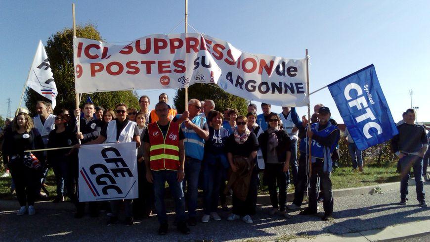 Les salariés d'Albéa ont prévu de faire un jour de grève par poste supprimé