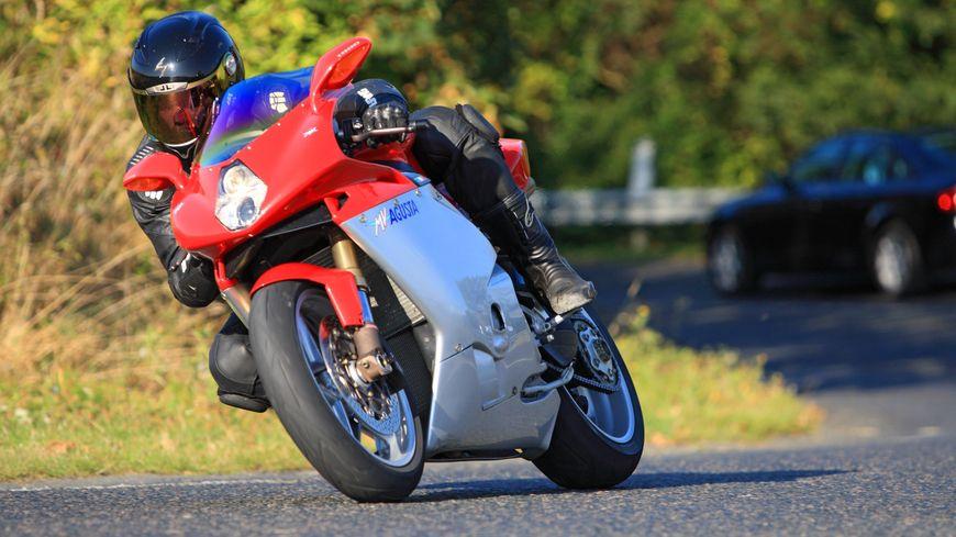 Le conducteur de la moto, un homme de 31 ans, a été flashé à Tartas sur une portion à 80km/h