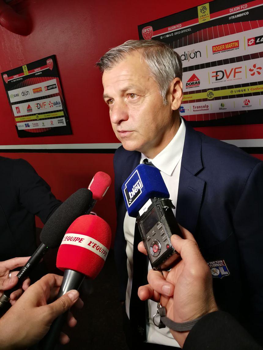 Bruno Génésio, l'entraîneur Lyonnais