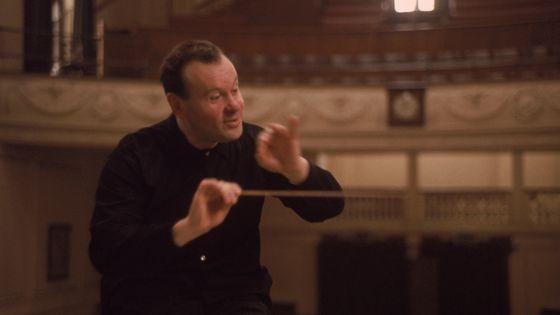 Le chef d'orchestre et compositeur Evgeny Svetlanov en 1965