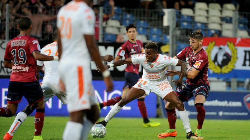 Jonathan Iglesias et Manuel Perez face au FC Lorient la saison dernière