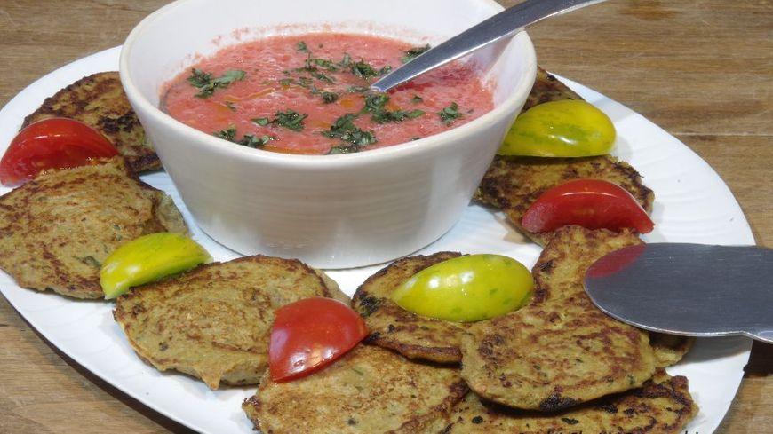 Pavés aux aubergines et basilic