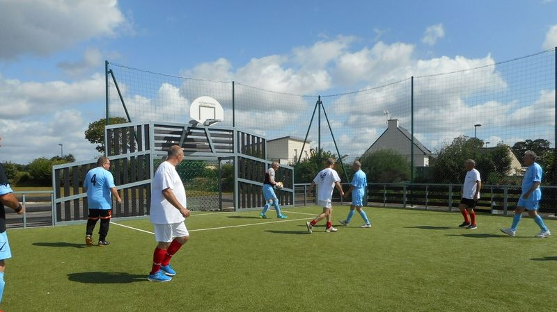 Football en marchant, des Bretons au Trévoux en juin 2018