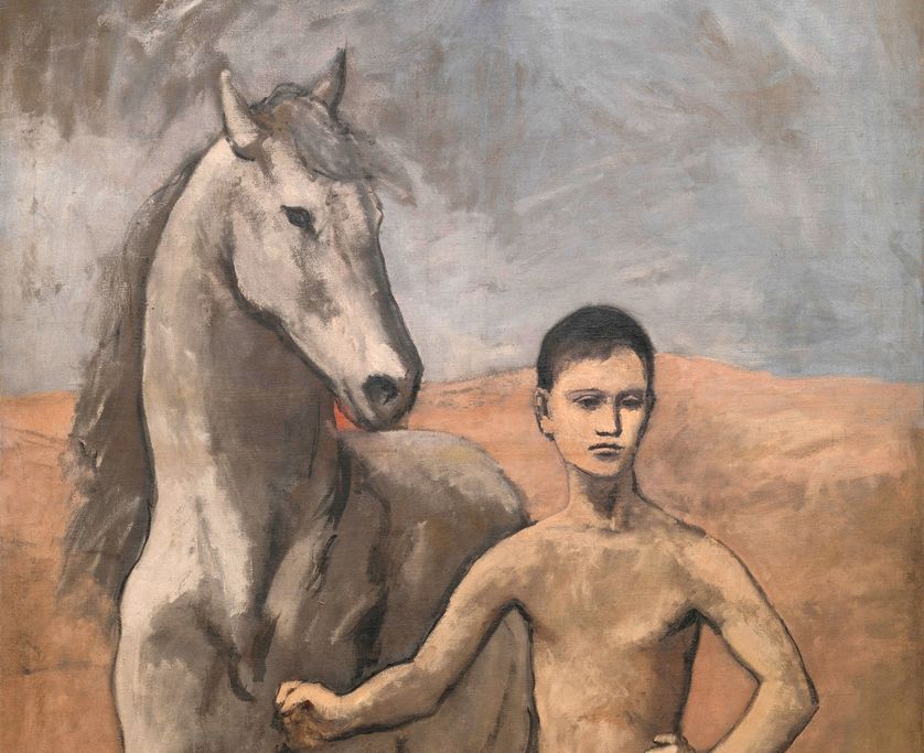 """Pablo Picasso, """"Le Meneur de cheval"""", 1905-1906, New York, The Museum of Modern Art, The William S. Paley Collection"""