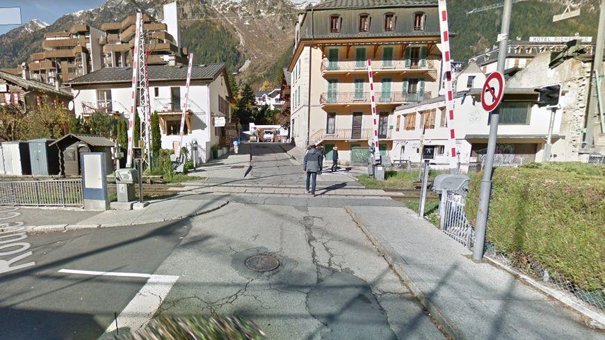 L'homme a été retrouvé sans vie au passage à niveau de l'Aiguille du Midi (illustration)