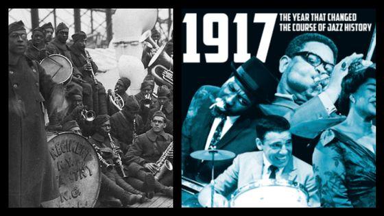 1917: le Jazz déferle sur le vieux continent !