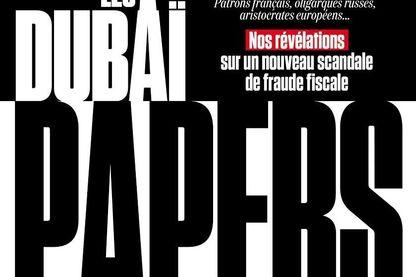 Les Dubaï Papers à la Une de l'Obs, le 6 septembre 2018