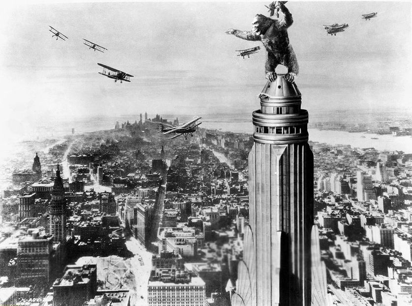 King Kong, un film Merian C. Cooper et Ernest B. Schoedsack, 1933