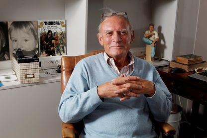 Jean Van Hamme, romancier et scénariste belge de bande dessinée. Il a notamment créé Thorgal, XIII et Largo Winch !