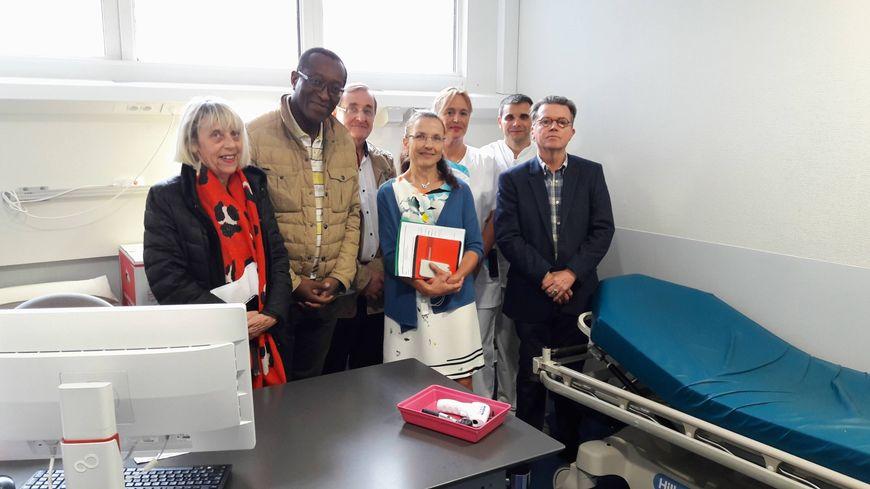 La convention a été signée ce lundi (24/09) après-midi au sein des nouveaux locaux de Garde Médicale 36 situés au coeur du service des Urgences de l'Hopital de Châteauroux