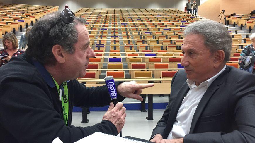 Christian Palka a rencontré Michel Drucker à la factulté de médecine de Lille.