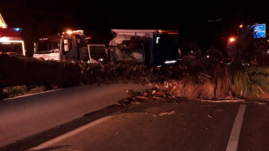 Accident de poids lourd sur l'A57 jeudi matin