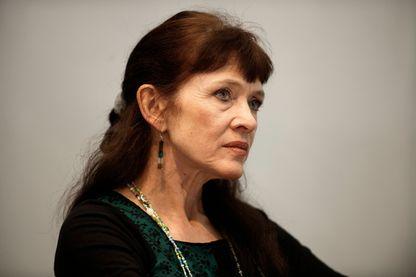 """Nancy Huston, écrivaine et romancière franco-canadienne, qui a fait paraître """"Lèvres de pierre"""" aux éditions Actes Sud en août 2018."""