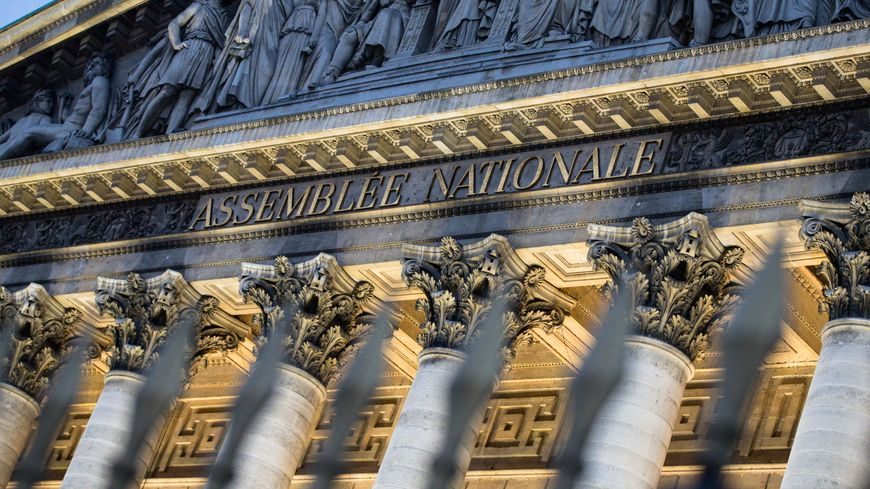 La façade de l'Assemblée nationale en juin 2018 (image d'illustration).