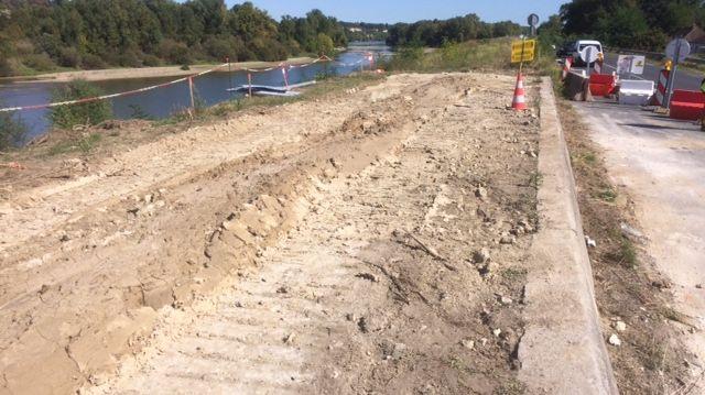 10 kms de digues entièrement consolidées pour faire face à des crues exceptionnelles