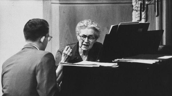 "VIDÉO - Nadia Boulanger, de ""Herr Professor"" à Mademoiselle"