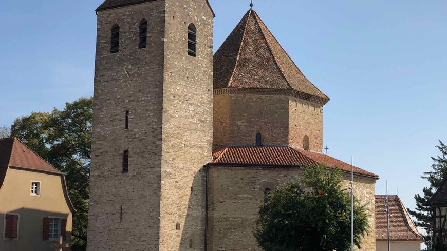 Ottmarsheim, l'église St Pierre et Paul