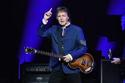 Paul McCartney en concert à American Airlines Arena le 7 juillet 2017 à Miami, en Floride.