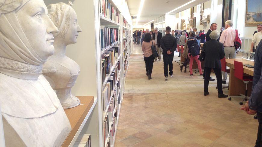 La bibliothèque Inguimbertine à Carpentras