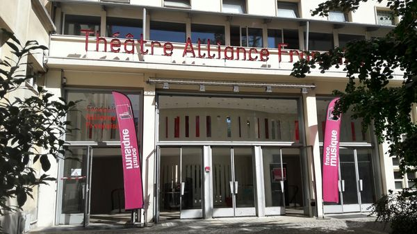 A l'Improviste en public à l'Alliance française, avec Jean-Luc Cappozzo et Manu Codjia