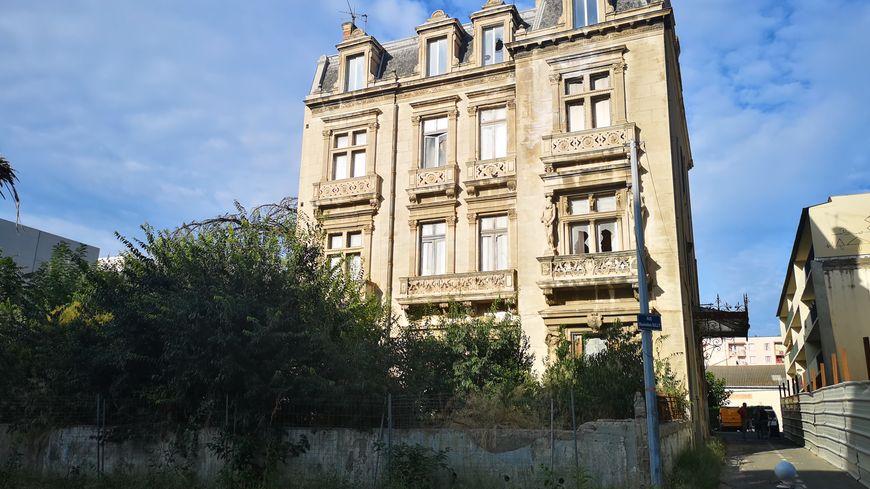 La maison Chappaz, laissée à l'abandon à Béziers depuis les années 70