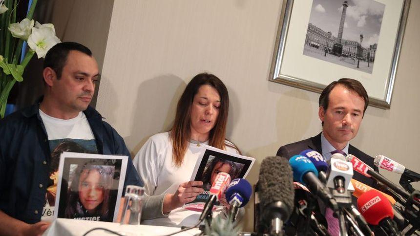 Les parents de Maëlys se sont exprimés seulement à deux reprises devant la presse, ici ce jeudi, et la première fois le 28 septembre 2017.