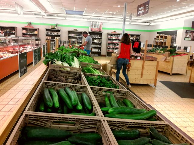 """Le supermarché """"Coeur Paysan"""" a ouvert ses portes à Colmar en 2016"""